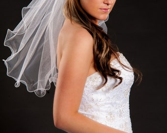 1 Layer Shoulder Length Veil