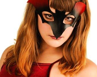 Artisan Leather BAT Cosplay Mask