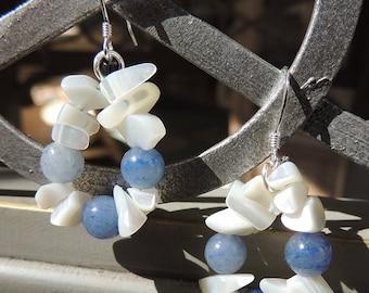 Frost earrings