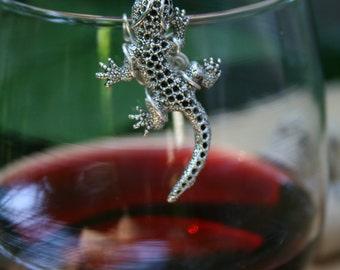 Gecko Wine Glass Marker