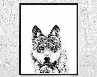 Wolf Print, Wolf Art, Wolf Animals Print, Wolf Printable, Wolf Art Print, Wolf Black and White, Wolf Wall Decor, Wolf Wall Art, Wolf Photo