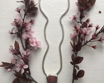 Pink Jasper Bloom Necklace
