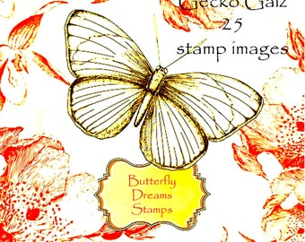 Butterfly Dreams Digital Stamp Set