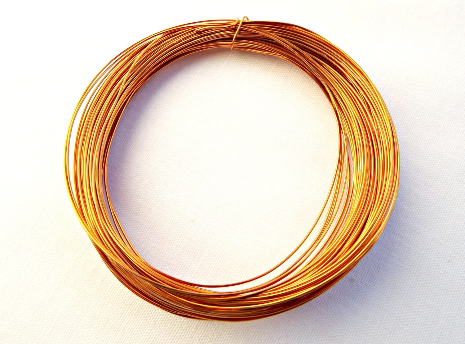 Gold Copper Wire, Light Gold Wire, Wire Wrapping, Gold Craft Wire ...