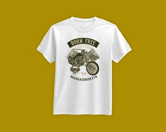 Motorcycle T Shirt You Can't Buy Happiness But You Can Buy Motorcycles Shirt Motorcycle Gifts For Men Father's Day Mens Tshirt MD