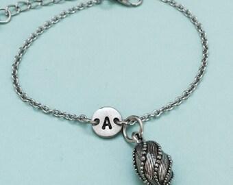 Easter egg charm bracelet, Easter egg charm, adjustable bracelet, holiday, personalized bracelet, initial bracelet, monogram