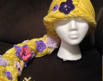Rapunzel inspired hat