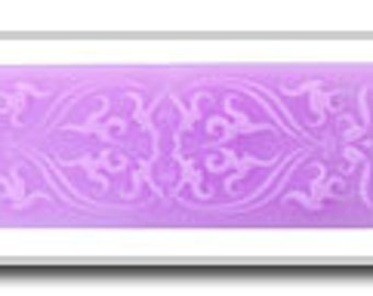 Plastic Mold for PMC & Embossing #8B FLOWERS  (PN3108B)