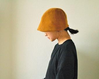 READY TO SHIP / wool hat / women / men / unisex / modern / beanie / cloche / reversible / autumn / winter / made in australia / pamelatang