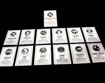 Astrological Sign Info Cards