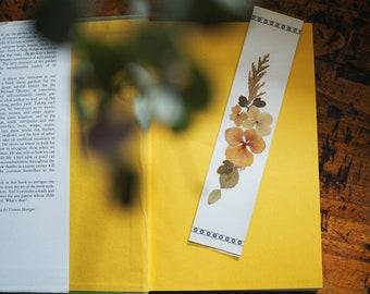 Pressed Flower Book Mark
