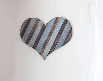 Wood Heart, Farmhouse Decor, Rustic Wall Decor, Heart, Entryway Decor, Office Decor, Rustic Decor, Country Home Decor, Cottage Decor
