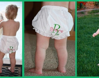 Personalized Baby and Toddler Diaper Cover Bloomies