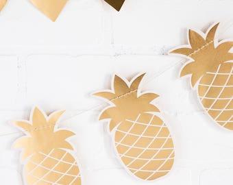 Pineapple Garland Banner