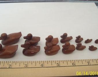 Wood duck figuirines