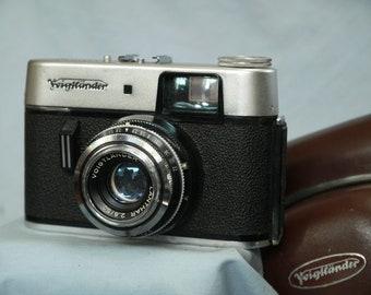Voigtlander Vitoret R Cased Vintage Rangefinder Camera -Nice-