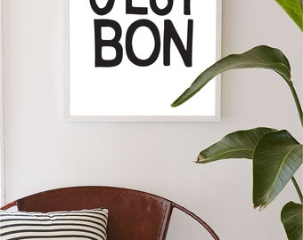 Printable Wall Art Prints, Printable Quotes,Digital Print,Digital Download,Modern Decor, Dorm Decor, Dorm Art, Kate Spade Print, Exclamation