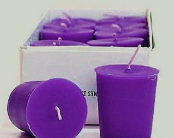 Juicy Grape Scented 15 Hour Soy Votive Candles Pick A Pack