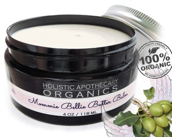 The PUREST Ever Mommie Belly Butter Balm 100% Organic Luxury Pampering For Mommie  before and after Baby.  Non - Toxic Moisturizer