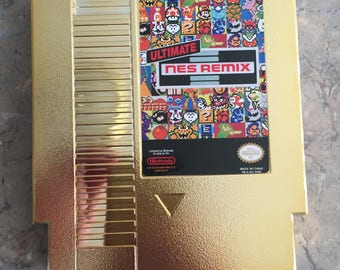 Ultimate NES Remix Nintendo NES Cartridge 154 in 1