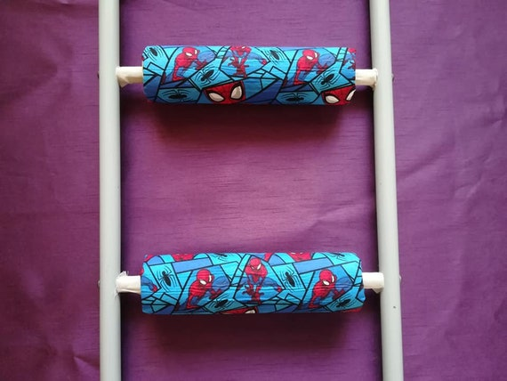 Spiderman Rungeeze Padded Bunk Bed Ladder Rung Covers