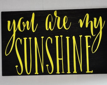 You Are my Sunshine, Disney Sign, Wood Sign, Home Decor, Child's Room Decor, Mothers Day Gift, Baby Shower Gift, Nursery Decor,