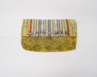 Vintage Indian Fabric Taj Bag