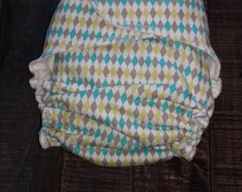 Bamboo One Size Fitted Diaper