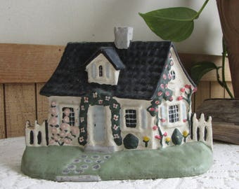 Cast Iron Cottage Door Stop Vintage and Whimsical Cottages and Décor Metal Display and Art