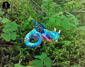baby fairy butterfly dragon - faerie drake - mythical creature in jar OOAK magic props
