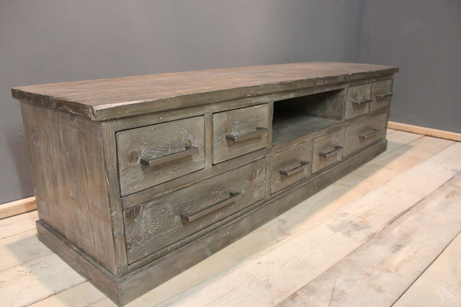 tv and media stand chest of drawers tv stand handmade. Black Bedroom Furniture Sets. Home Design Ideas
