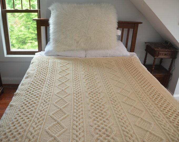 Bradford Throw Blanket -- PATTERN ONLY