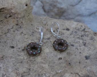 Earrings mini donuts