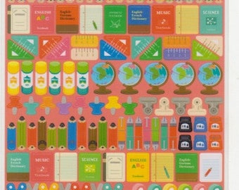 School Stickers - Japanese Stickers - Reference C5984-86
