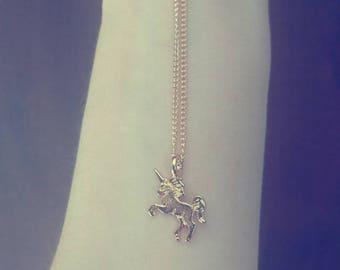 Dainty Unicorn Necklace Unicorn Pendant Magical Necklace Delicate Necklace Gold Plated Unicorn Gift Unicorn Lover Delicate Unicorn Jewelry