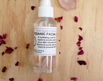 Rose Quartz infused Face Mist
