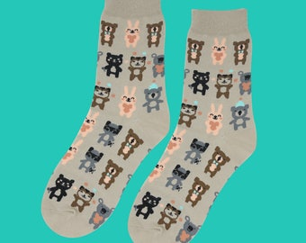 FREE SHIPPING Animal party sock for women