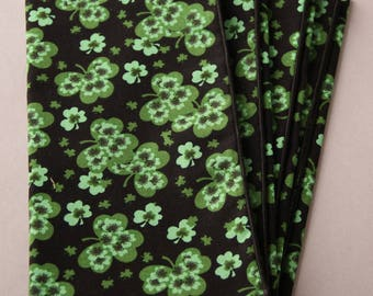 Shamrock Napkins, Set of 6 Napkins, St. Patrick's Day, Irish Home Decor, Table Accents