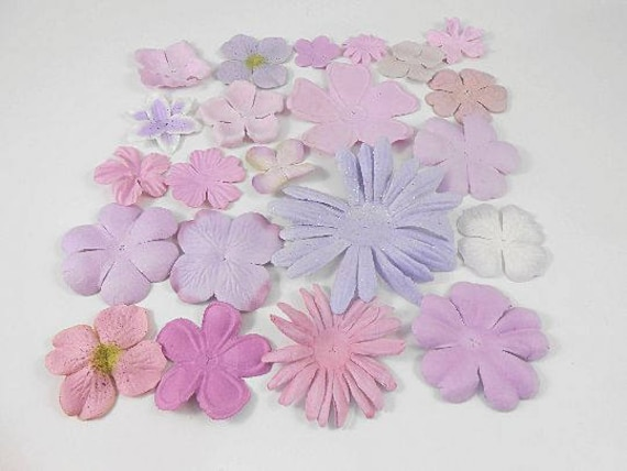 Prima paper flowers purple assortment no 401 got flowers prima paper flowers purple assortment no 401 got flowers scrapbooking prima flowers mulberry paper flowers sampler floral card from creativebounty on etsy mightylinksfo