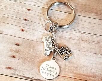 Teacher keychain, teachers gifts, teachers, keychains