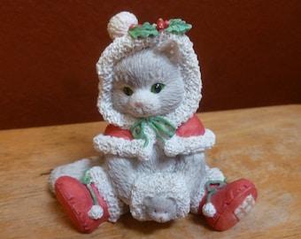 Enesco 1993 Priscilla Millman Wrapped in the Warmth of Friendship figurine