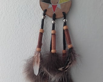 Medicine Wheel Wolf and Bear paws  ref: MW 150201