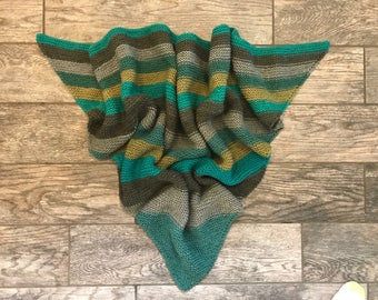 Simple Triangle Shawl