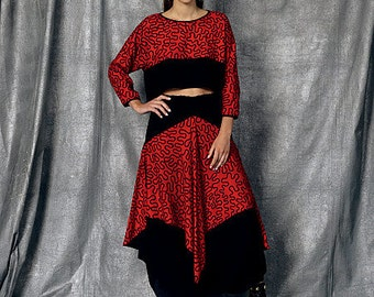 Vogue Sewing Pattern V1472 Misses' Top and Skirt