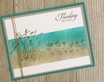 Thinking of you Cards - Friendship Cards /Handmade Greeting Cards - Stampin Up Greeting Cards - Personalized Greeting Cards