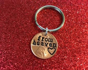From heaven keychain