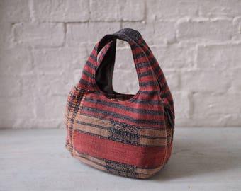 Stone Washed Hand Woven Boho Bag (Ready to ship)