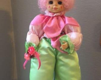 Brinn's Calendar Clown May Limited Edition 1986 Doll