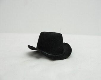Miniature cowboy hat, mini cowboy hat, large peg person cowboy hat