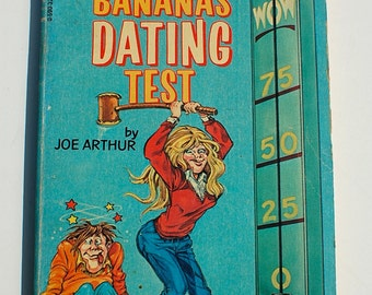 The Bananas Dating Test by Joe Arthur Bananas Magazine 1982 vintage paperback